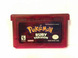 Pokemon ruby version asian version gameboy advance