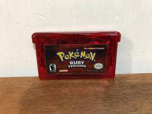 Pokemon ruby version para gameboy advance / gba nintendo
