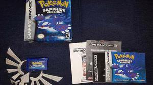 Pokemon saphire, zafiro, original gameboy advance