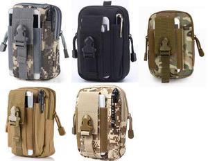 10 bolso mochila militar celular supervivencia molle surtido