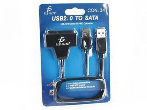 Adaptador usb 2.0 a disco duro sata 2.5 conector convertidor
