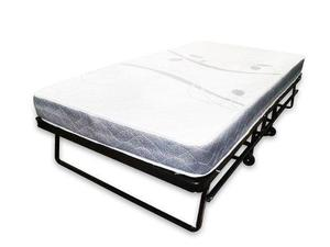 Cama extra para hoteles individual con ruedas y colchón