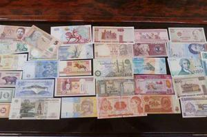 Coleccion 32 billetes mundiales nuevos