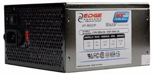 Fuente poder acteck blazar de 600watts atx b600p gamer z-600