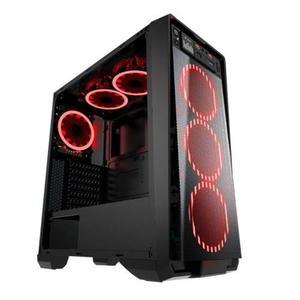 Gabinete eagle warrior skynet rojo atx micro atx s-f