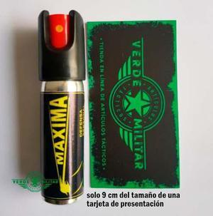 Gas pimienta lacrimogeno defensa personal spray 22 gramos