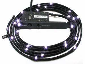 Kit de luces led nzxt white 1mt - 3 niveles de luz