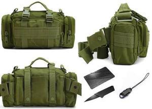precio especial para despeje precio loco Mochila Maletin Militar F-113-v Tactica Pounch Verde Hombro