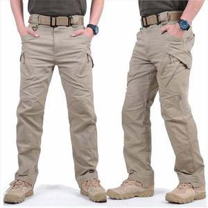 Pantalón táctico militar tipo cargo policia seguridad ix9