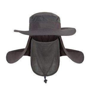 Sombrero protector solar rostro cuello pesca campo upf 50 91ce6eaf749