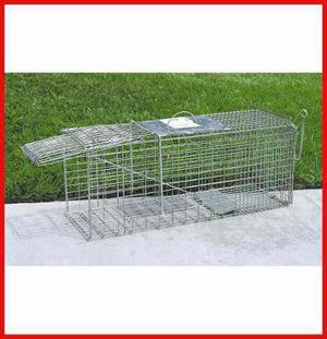 Trampa Para Atrapar Animales Jaula 82cm X 38cm X 25.4cm