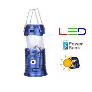 5000 LM USB recargable luces Lampara Lampara luz de camping plegable de BF