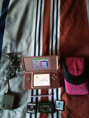 Nintendo ds lite + 3 juegos ds + 1 juego gba !envio gratis!