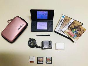 Nintendo ds lite, 472 juegos + zelda + batería + envío