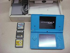 Nintendo dsi, empaque original, 3 juegos, funda, perfectos!