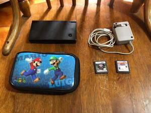 Nintendo dsi negro 2 juegos funda super mario envío gratis