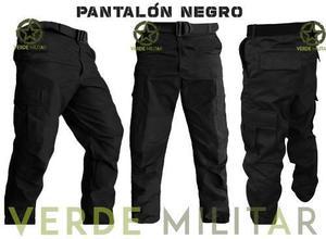 Pantalon bolsas tactico comando seguridad privada ripstop