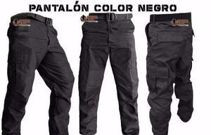 Pantalon de bolsas tactico comando policia gris militar