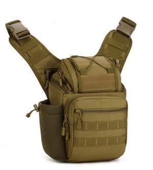 Pechera táctica original militar bolsa hombro colores 600d