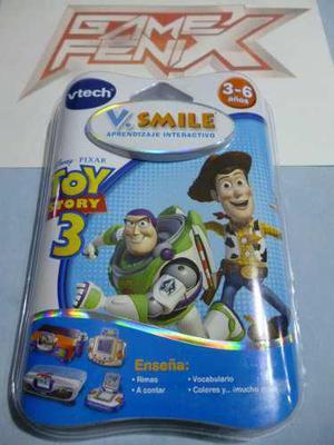Toy story 3 para v smile. v tech. game fenix. disney, pixar.