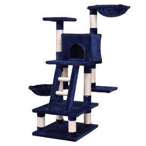 46 gato árbol gatito juego mascotas casa muebles condo-2054