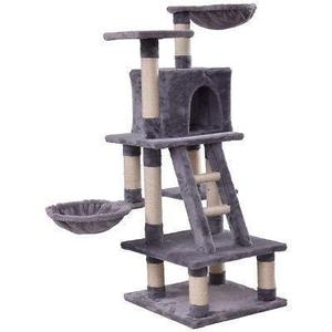 46 gato árbol gatito juego mascotas casa muebles condo-5469