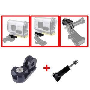 Adaptador inverso actioncam sony con accesorios gopro