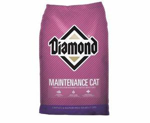 Alimento croqueta gatos diamond maintenance cat 2.7kg envío