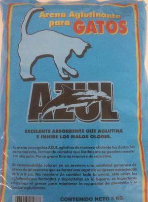 Arena para gato 3 kg