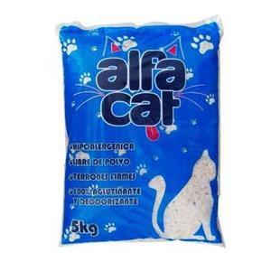Arena para gato alfa 5 kg