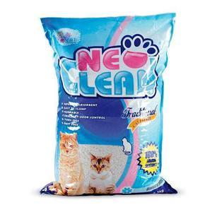 Arena para gatos neo clean 5 libras inoloro mascotas