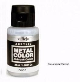 Barniz brillante metal color 32ml acrylicos vallejo 77657