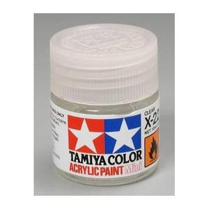 Barniz brillante transparente tamiya x-22 clear 10ml 81522