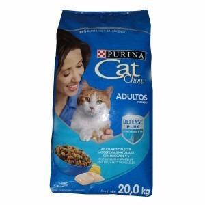 Croqueta alimento gato adulto cat chow pescado 20kg
