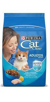 Croqueta cat chow para gatos
