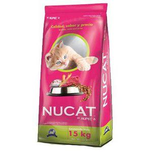Croqueta para gato nucat by nupec 15kg
