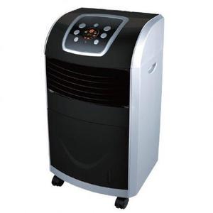 Enfriador aire 3 en 1 ventildador negro/plata adir 4822