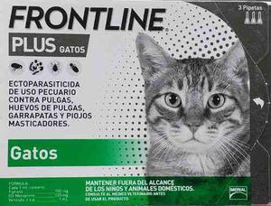 246befb7f Frontline plus gatos paquete de 3 pipetas en México 【 ANUNCIOS Mayo ...
