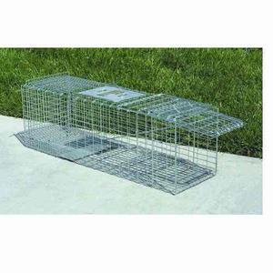 Jaula trampa para mapache gatos perros 95 x 31 x 33.5 cm