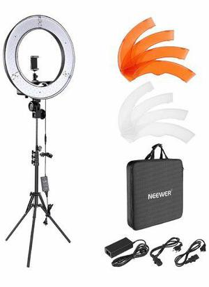 Kit aro de luz led 18 bluetooth tripie foto video maquilla