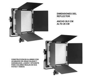 Kit de iluminacion 2 lamparas de 660 leds con soporte neewer