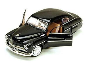 Mercury 1949 ocho coupe, negro - motormax 73225 - escala 1
