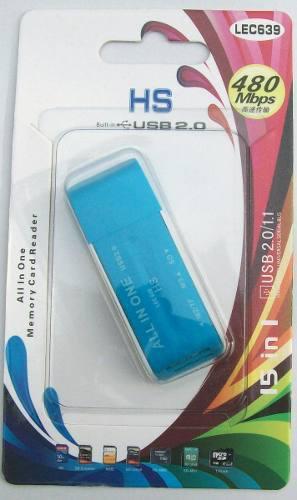 Multilector memorias usb micro sd, sd, m2 memory stick