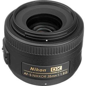 NIKON AF-S DX NIKKOR 35MM F/1.8G - (ML) segunda mano  México (Todas las ciudades)