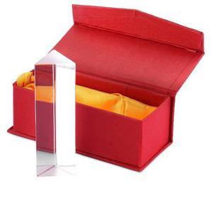 Prisma triangular fotografía vidrio 10 cm envío gratis