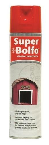 Super bolfo insecticida pulgas garrapatas uso veterinario