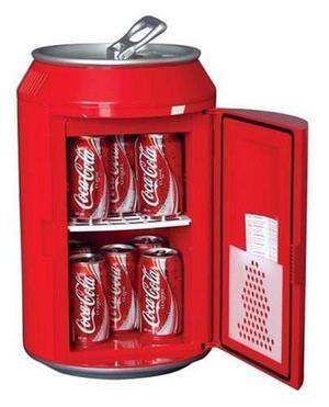 Coca cola cc10g 12-can capacidad puede en forma de coche de