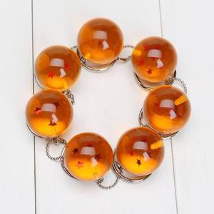 Dragon ball z - set de 7 llaveros esferas del dragon