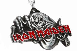 Iron maiden banda rock llavero original envio gratis lls38