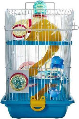 Jaula hamster cuyo con casa de juego envio gratis